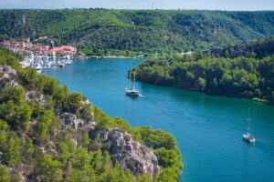 Transfer split krka waterfalls zadar